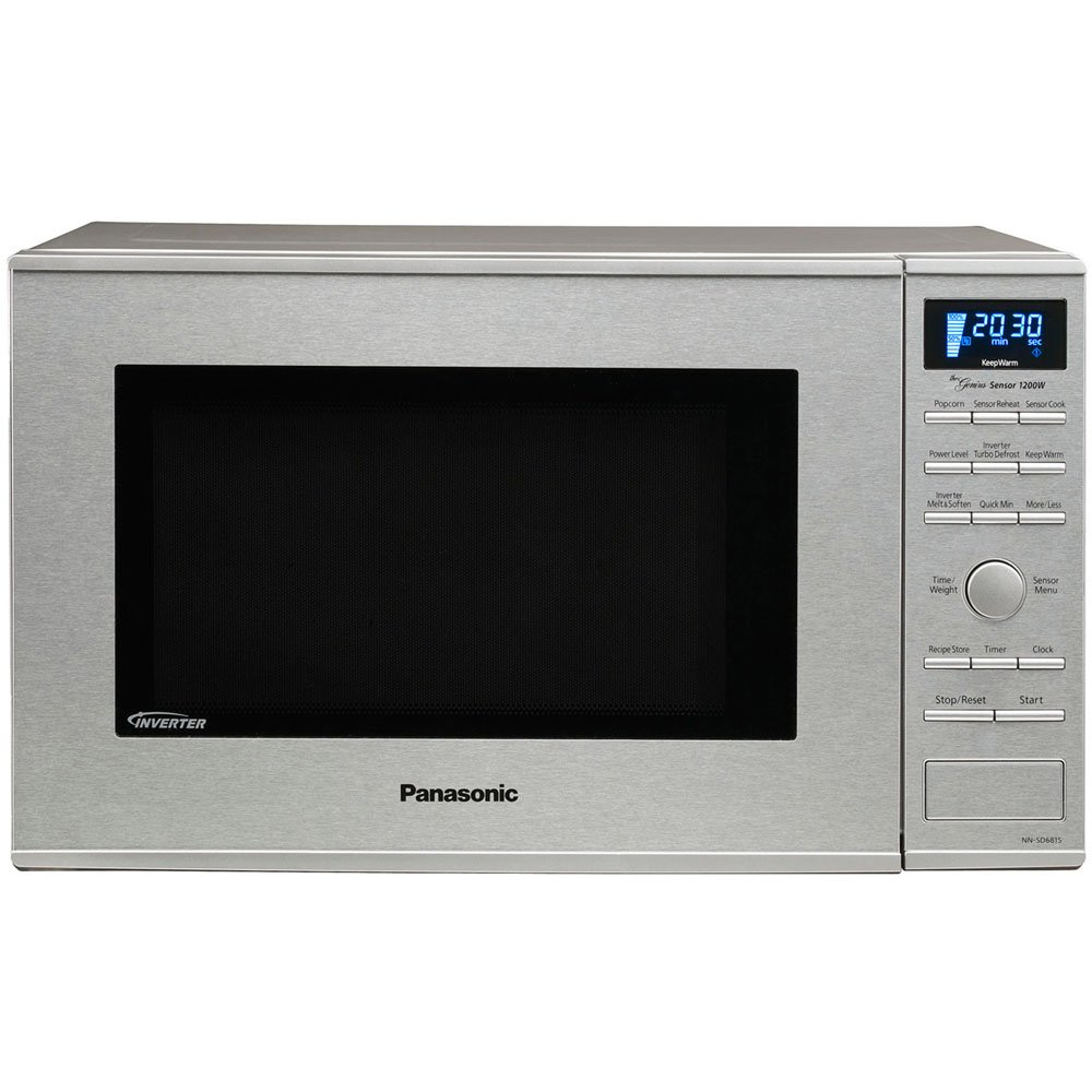 Panasonic Nn Sd681s Genius Quot Prestige Quot 1 2 Cuft 1200 Watt