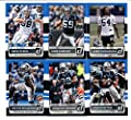 2015 Donruss Football Carolina Panthers Team Set of 6 Cards: Cam Newton, Jonathan Stewart, Kelvin Benjamin, Greg Olsen, Luke Kuechly, Shaq Thompson In Protective Album