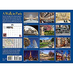 walk in PARIS - 2015 calendar