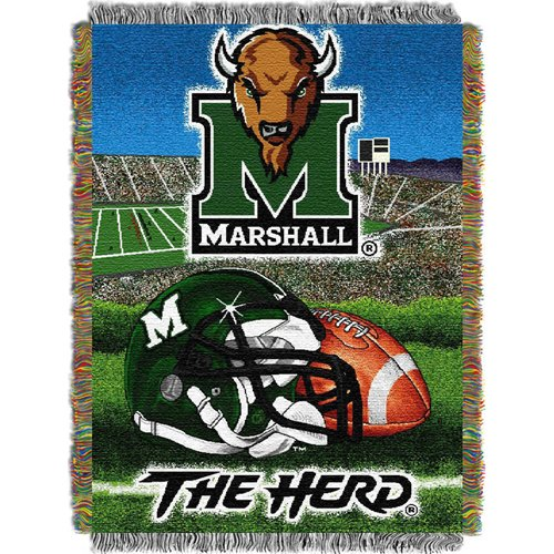 marshall-thundering-herd-ncaa-woven-tapestry-throw-home-field-advantage-48x60