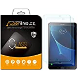[2-Pack] Supershieldz for Samsung Galaxy Tab A 10.1 Screen Protector, [Tempered Glass] Anti-Scratch, Bubble Free, Lifetime Replacement (Only fits SM-T580/T587)
