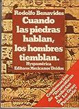 img - for Cuando las piedras hablan, los hombres tiemblan (Spanish Edition) book / textbook / text book