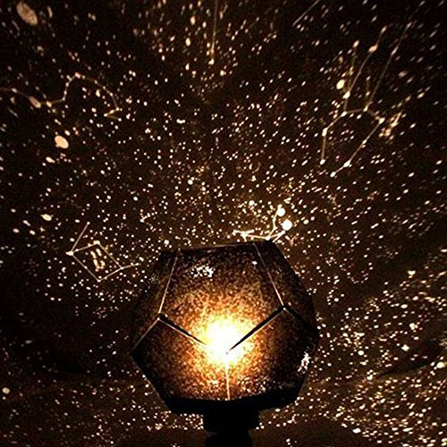 Ieasysexy Fantasy Sky Map Projector Astrostar Astro Star Laser Projector Cosmos Romance Light Lamp DIY -Should Assemble By Yourself(with Adapter)