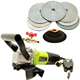 QuickT SPW702A Concrete Countertop Wet Polisher Variable Speed Grinder Sander Granite Stone Polisher Polishing Fabrication Tools Kit - 4