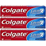 Colgate Cavity Protection Fluoride Toothpaste, Regular Flavor