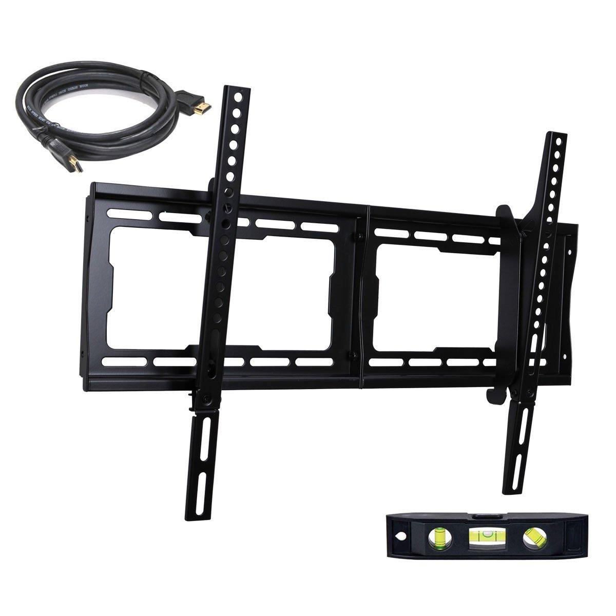 VideoSecu Flat Panel Tilt LCD LED 3D TV Wall Mount Fits most 32- 63 TVs for Panasonic TC-32LX14 TC-P42C2 TC-L42U12 TC-L32C12 TC-L32X1 TC-L37X1 TC-L37S1 TC-L37G1 TC-L32S1 LED HDTV- VESA Compatible up to 600x400 BG3