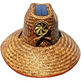 Kool Breeze Solar Hat Male Palm Leaf Thurman Hat w/o band