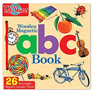 T.S. Shure T.S. Shure ABC Wooden Magnetic Book