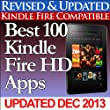 Best 100 Kindle Fire HD Apps (Updated With Top Apps for the Kindle Fire HD!) (English Edition)