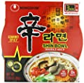 Nongshim Shin Bowl Gourmet Spicy, 3.03 Ounce (Pack of 12)