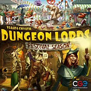 Amazon.com: Dungeon Lords Festival Season Board Game: Toys & Games
