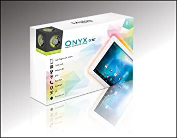 "Point of View Onyx 6412 Tablette tactile 10"" (25,40 cm) ARM Cortex A7 1,3 GHz 8 Go Android Jelly Bean 4.2.1 Wi-Fi Blanc"
