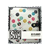 Carpe Diem Floral Dot A5 Planner (Tamaño: UNITS)