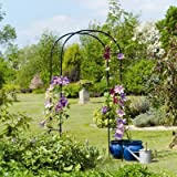 "Gardman R350 Rose Arch - 3' 3"" wide x 6' 3"" high (above ground) x 19"" deep"