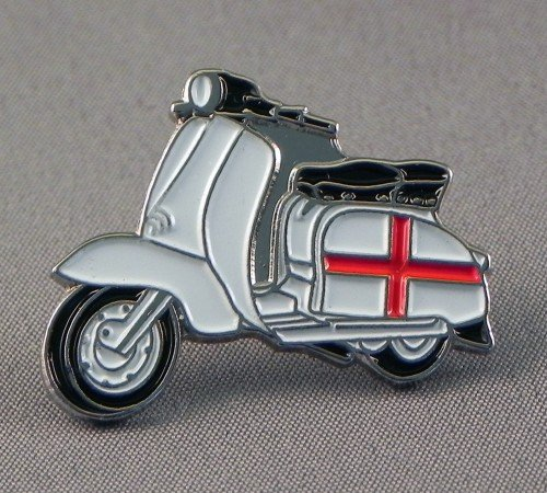 Metal Enamel Pin Badge Brooch Scooter Lambretta