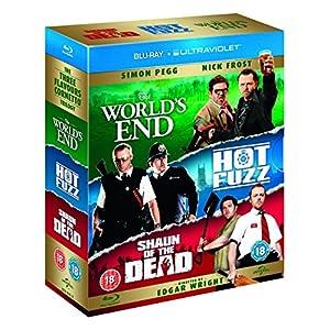 Three Flavours Cornetto Trilogy [Blu-ray] [Import anglais]