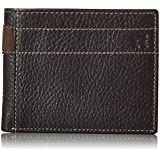 Haggar Men's Pebble Passcase, Brown, One Size