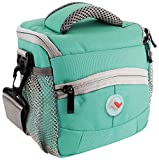 Montana Stylish & Hip Digital camera / Camcorder bag case cover & Raincoat / colour: Turquoise / compatible with (Samsung Digimax EX2 MV900 WB850 ST200 WB150 DV300 ST77 ST66 i50 L77 S1030 S1050 S1070 S500 s600 S630 S700 S730 S750 S760 s800 S830 S85 S850