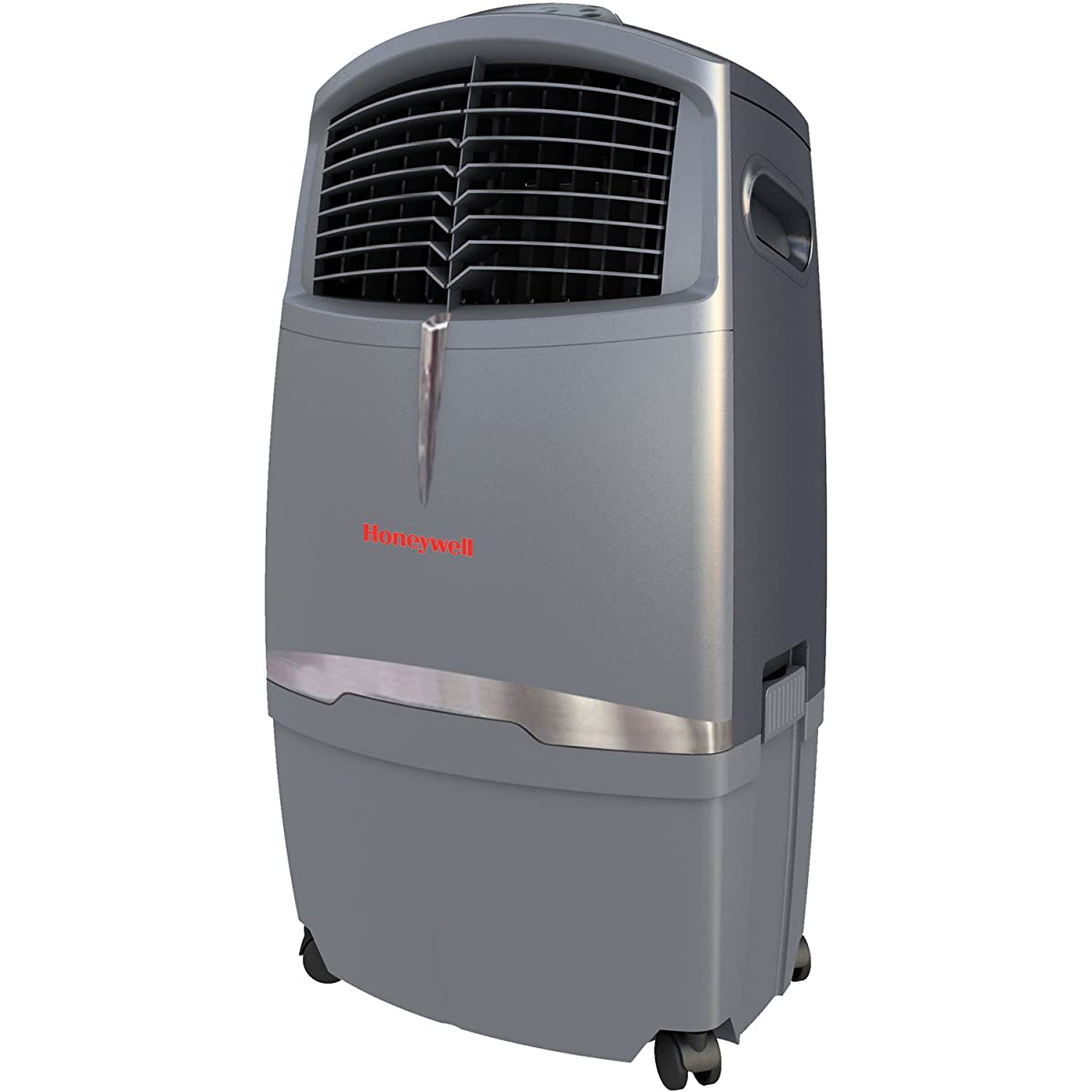 Honeywell CL30XC 63 Pt. Indoor Portable Evaporative Air Cooler with Remote Control, Grey