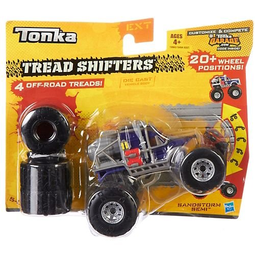 Sandstorm Semi Tonka Tread Shifters Off Road Cars - 1