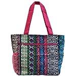 World Traveler 13.5 Inch Beach Bag, B...
