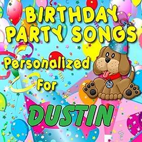 Amazon.com: Happy Birthday to Dustin (Dusten, Duston