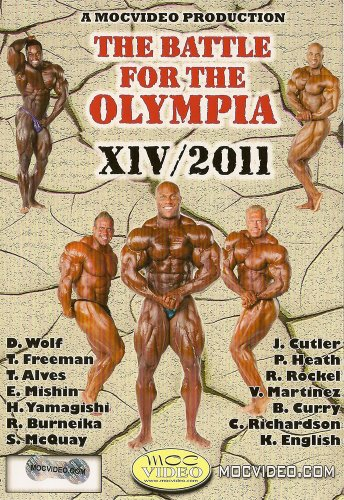 Cover art for  Battle for the Olympia 2011 Bodybuilding