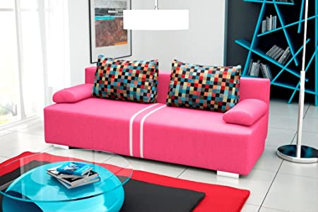MATRIX Sofa Bed * Brand New * Modern Design * PINK