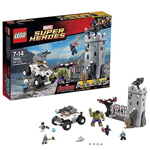 Lego Super Heroes - Nouveautés 2015 - L'attaque de la Forteresse d'Hydra - 76041 - Seulement chez Toysrus !