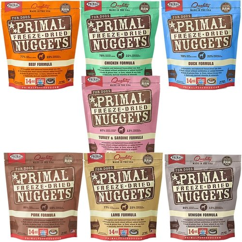 Primal-Freeze-Dried-Pet-Foods