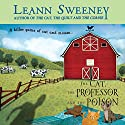 The Cat, the Professor and the Poison: A Cats in Trouble Mystery Audiobook by Leann Sweeney Narrated by Vanessa Johansson