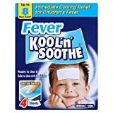 6 x Fever Kool 'n' Soothe 4 Sheets