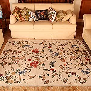 rugs floral print large rugs carpets for home living room 63 39 39 90