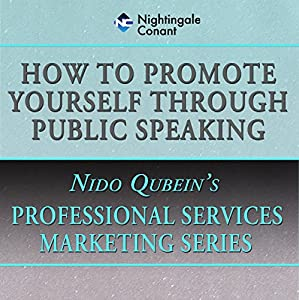 How to Promote Yourself Through Public Speaking Speech