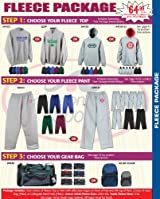 Anaconda Sports® Fleece Basketball Team Package (Call 1-800-234-2775 to order)