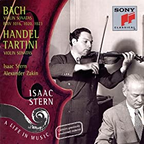 Bach/Handel/Tartini: Sonatas for Violin