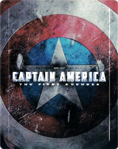 【Amazon.co.jp限定】 キャプテン・アメリカ/ザ・ファースト・アベンジャー 3Dスーパーセット スチールブック仕様 [Blu-ray]