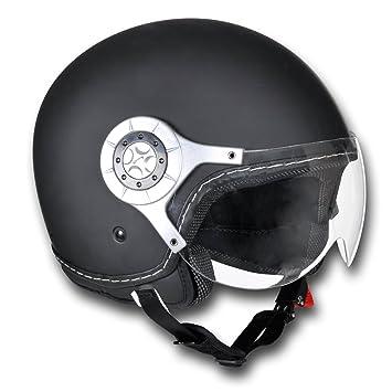 Casque moto noir Taille M