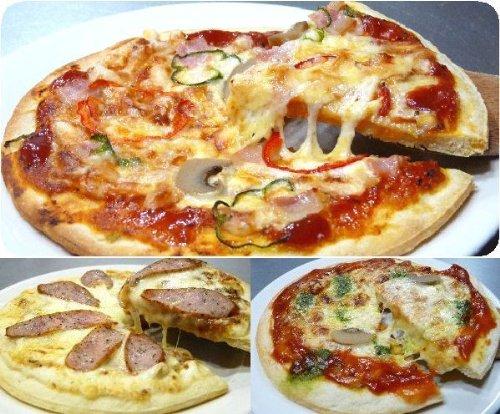 プロの味付け本格ソース冷凍ピザ(ナポリ、マルゲリータ、プロヴァンス) 計5枚 (大分県産)