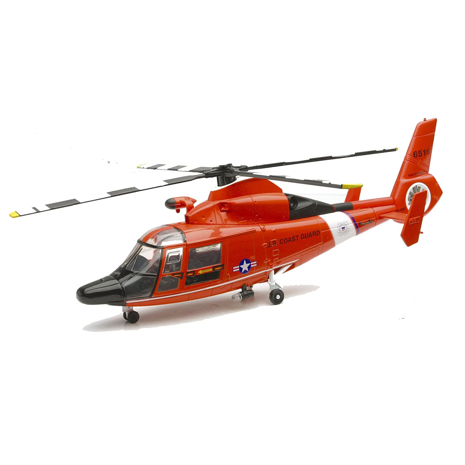 NewRay 1/48 Scale Diecast US Coast Guard Eurocopter HH-65C ...