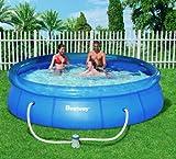 Bestway Fast Set Pool 366x76cm Swimmingpool Schwimmbecken Pl...