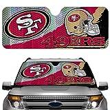 NFL San Francisco 49Ers Auto Sun Shade