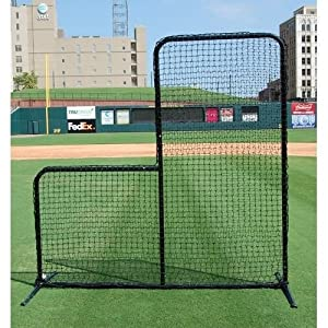NEW Baseball Softball Black Series L-Screen Training Aid Pitchers Protective Net by Unknown