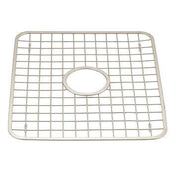 interdesign gia kitchen sink protector grid mat regular with hole satin. Interior Design Ideas. Home Design Ideas
