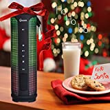 LOWEST PRICE OF THE YEAR - BLACK FRIDAY SALE NOW! iZOOM LED Wireless, Portable Bluetooth Speaker with Built-In Microphone for Incoming Phone Calls. Amazing LED Bluetooth Light Show and HD Sound.