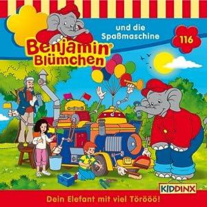 Benjamin und die Spaßmaschine (Benjamin Blümchen 116) Hörspiel
