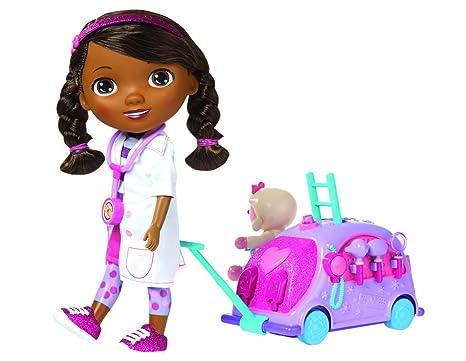Docteur La Peluche - 5738 - Poupon avec clinique mobile et accessoires