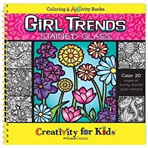 Buy faber castell creativity for kids girl trends stained for Amazon arts and crafts for kids