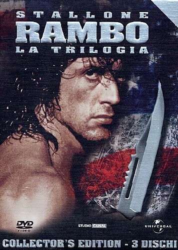 Rambo - La trilogia (3 DVD + gadget) [IT Import]