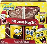 SpongeBob Squarepants Hot Cocoa Mug Set Ceramic